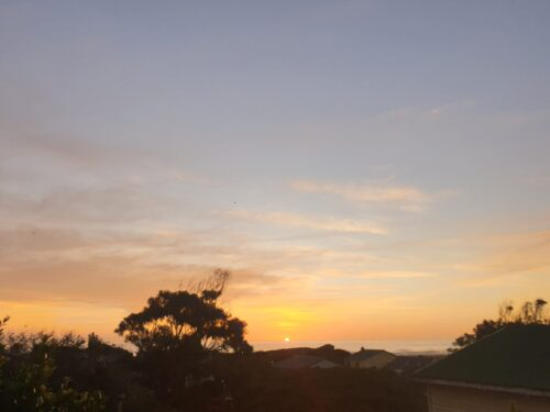 quality of life - take time to watch the sunset