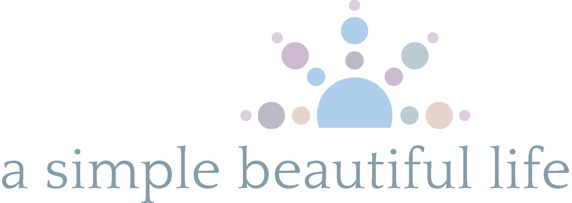 simple beautiful life logo
