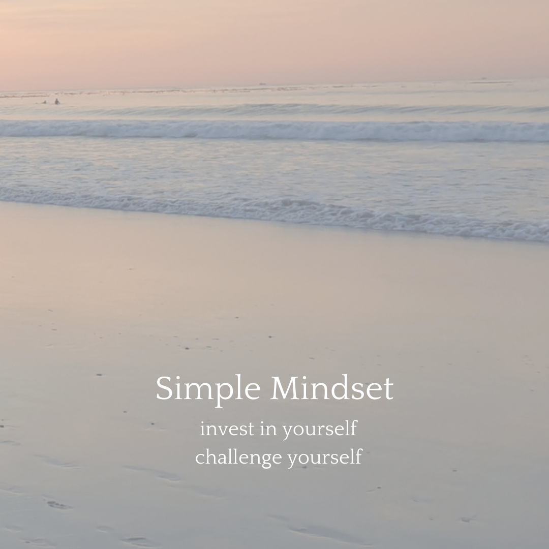 create a winning mindset by investing in yourself and challenging yourself
